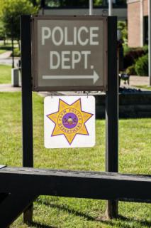 Police Department Sign